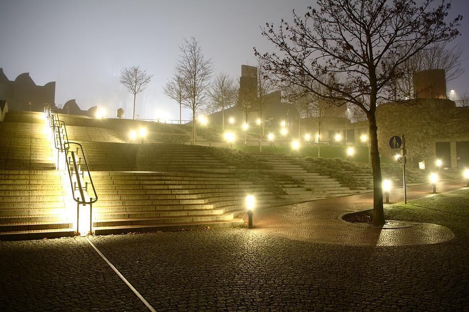 Treppe am Heinrich-Böll-Platz