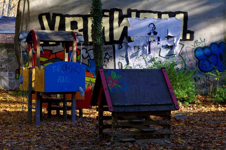 Graffiti Spielplatz