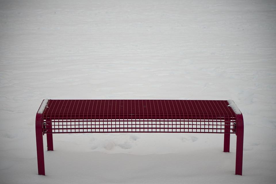 Sitzgelegenheit, leer