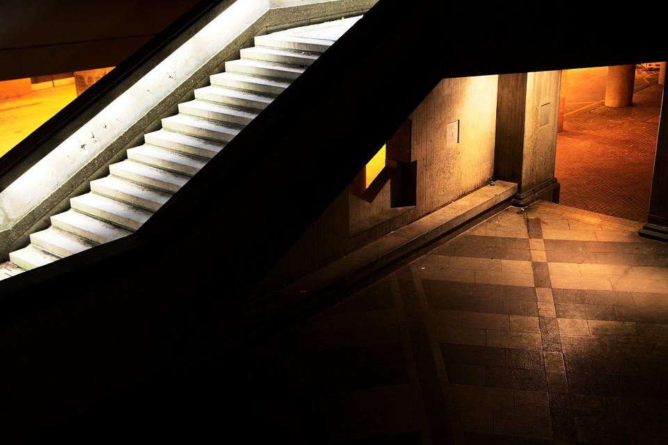 Treppen hinterm Dom