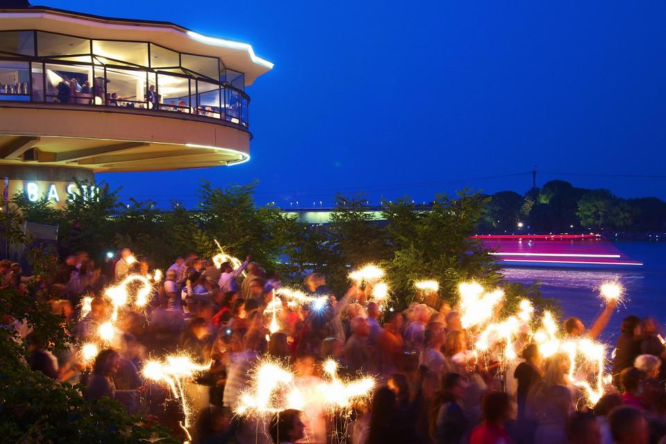 Kölner Lichter 2013 an der Bastei