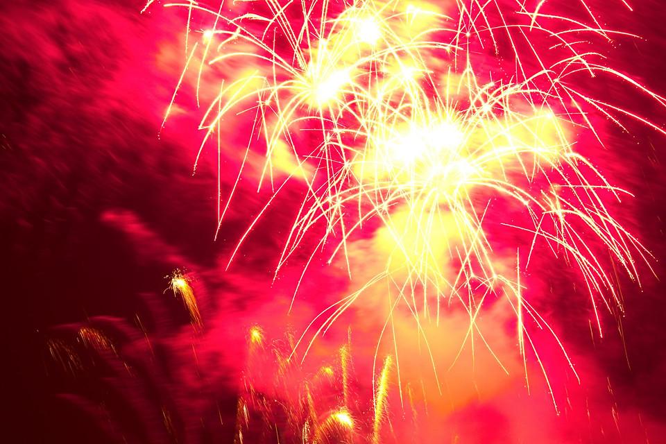 Feuerwerk Kölner Lichter 2013