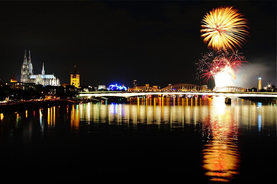 Feuerwerk Kölner Lichter 2011